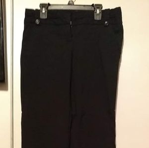 The Limited Exact Stretch black boot cut pants